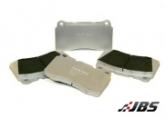 Performance Brake Pads: Rear:Strada