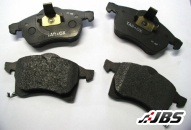 Performance Brake Pads: Front: Strada